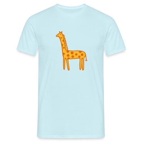 Kinder Comic - Giraffe - Männer T-Shirt