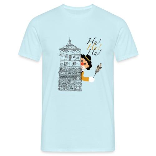 Hu! Hu! Hu! Schwarzgelber Clown am Schwarzen Tor - Männer T-Shirt