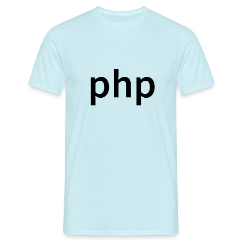 php Men - Männer T-Shirt