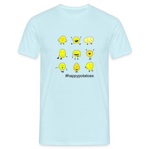 9 smilies - Männer T-Shirt