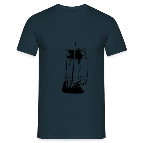 Viking Ship - Herre-T-shirt