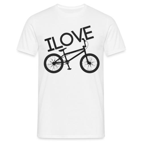 I LOVE BMX - Camiseta hombre
