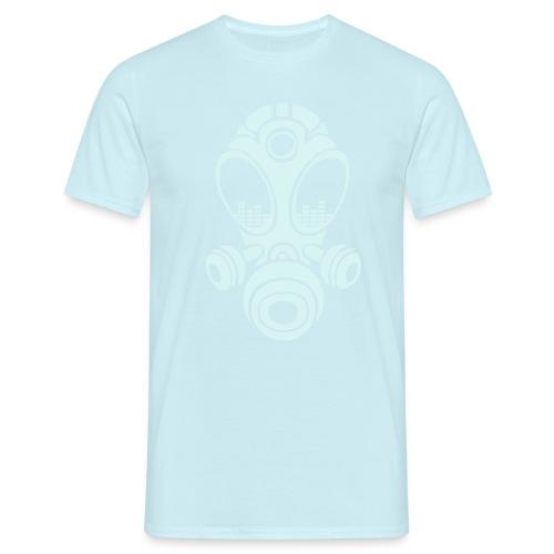 Gasmask - T-shirt herr