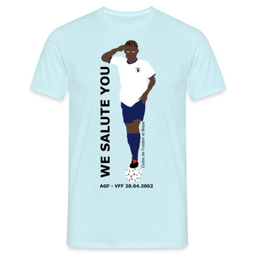 We Salute You - Herre-T-shirt