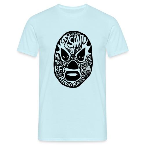 luchador mask2 - Mannen T-shirt