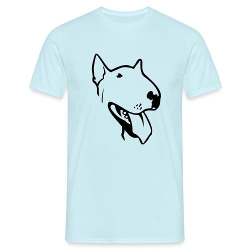 bull terrier2 - Men's T-Shirt