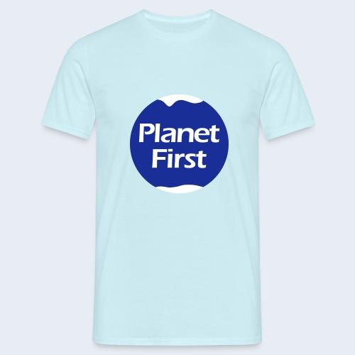 Planet First 2 - Mannen T-shirt