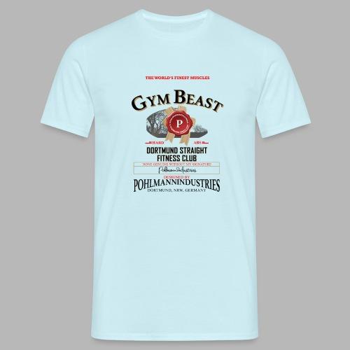 GYM BEAST - Männer T-Shirt