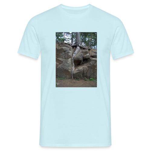 Juuret tukevasti maassa - Miesten t-paita