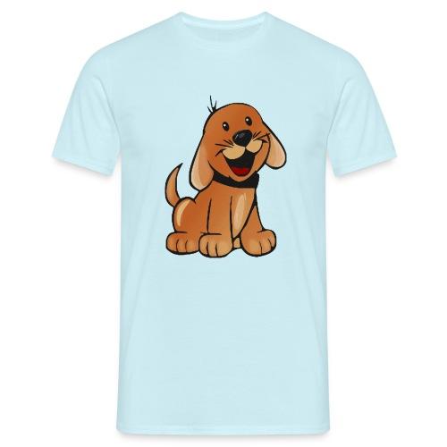 cartoon dog - Maglietta da uomo
