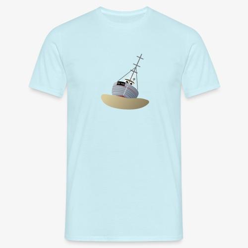 By Thy - skibet - Herre-T-shirt