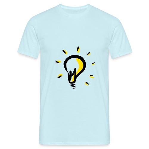 Geistesblitz - Männer T-Shirt