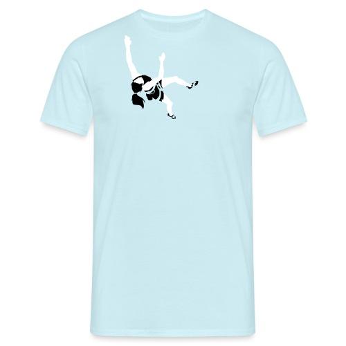 Girl Climber - Men's T-Shirt