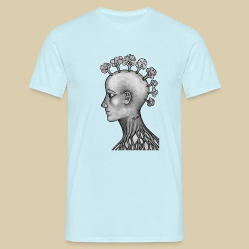 mujer brócoli - Camiseta hombre