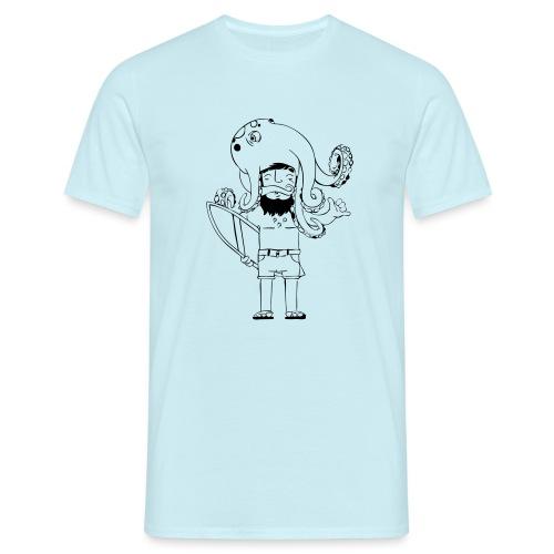 Surf Octopus - Männer T-Shirt