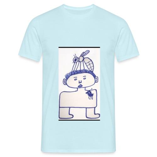 Roland die hausmücke - T-shirt herr
