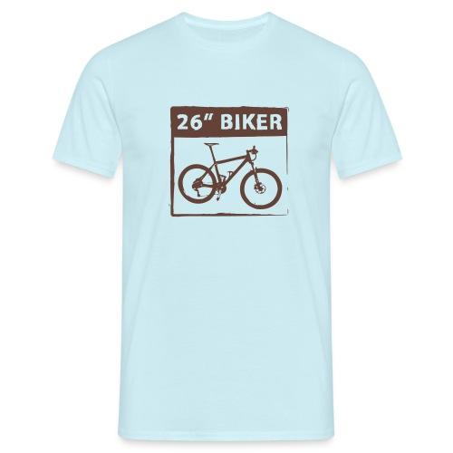 26 Biker - 1 Color - Männer T-Shirt