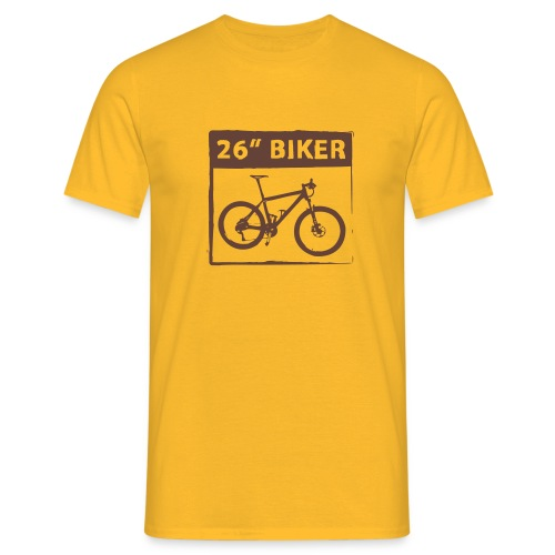 26 Biker - 1 Color - Männer T-Shirt
