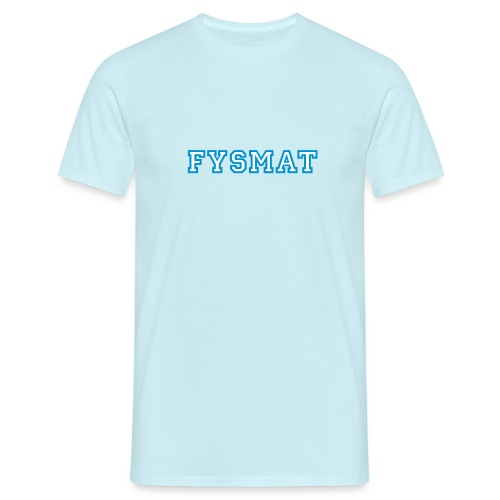 fysmat - T-skjorte for menn