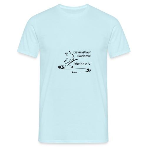 EARheine Logo schwarz - Männer T-Shirt
