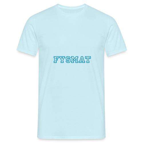 fysmat - T-skjorte for menn