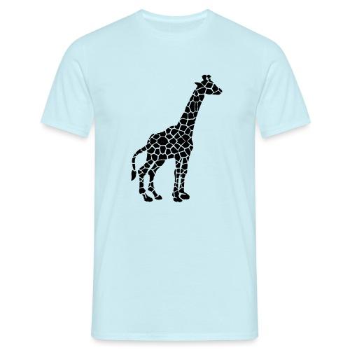 Giraffe (black) - Miesten t-paita