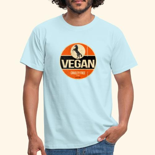 VEGAN Prancing Horse - Men's T-Shirt