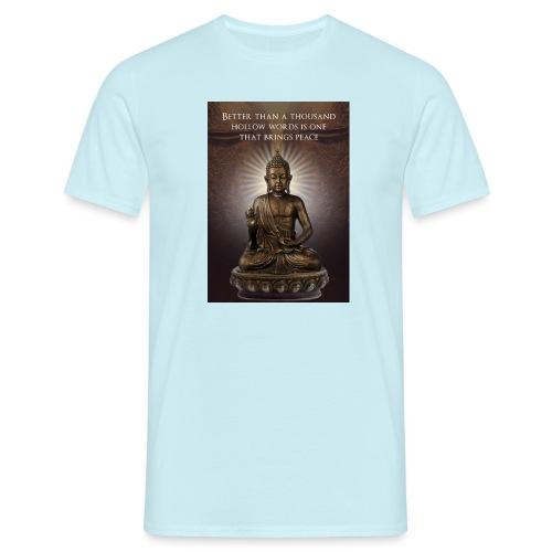 Buddha Wisdom - Men's T-Shirt
