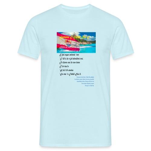 15 HYMNE TAHITI - T-shirt Homme