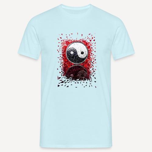 Tao symbol Low Poly - Maglietta da uomo