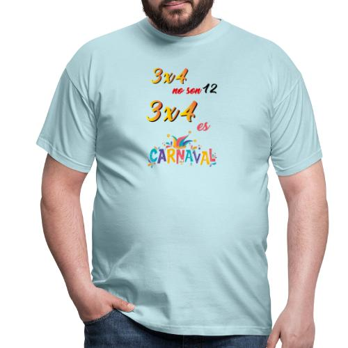 3x4noson12 - Camiseta hombre