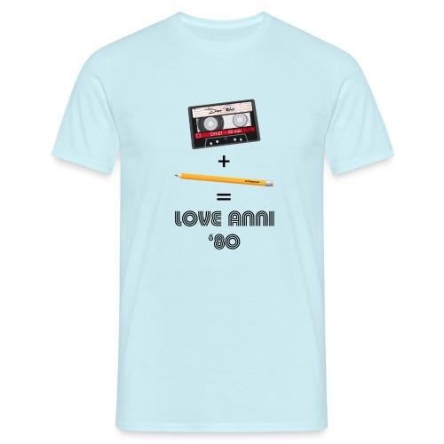 Maglietta love anni 80 - Maglietta da uomo