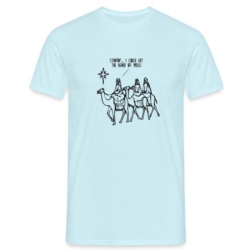 threewise1 png - Men's T-Shirt