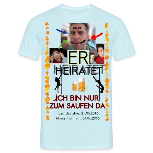 Poltern_Unser-Shirt_v2 - Männer T-Shirt