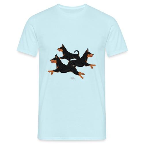 kaakkatrio4 - Miesten t-paita