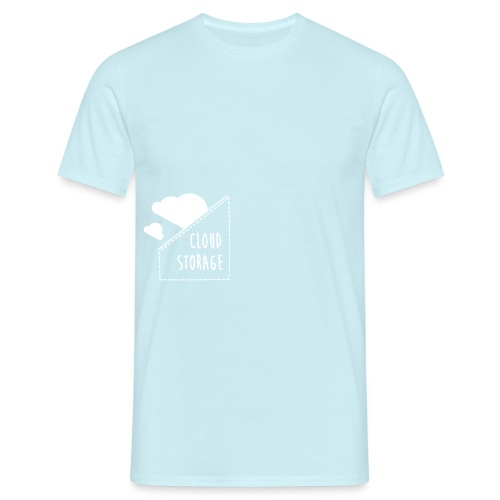 Cloud Storage - Männer T-Shirt