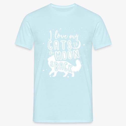 Cats Moon 2 - Miesten t-paita