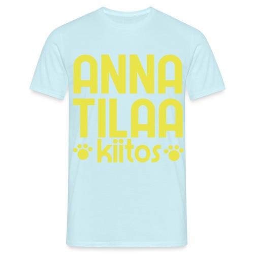 Anna Tilaa Kiitos - Miesten t-paita