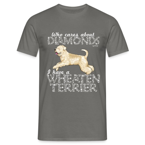 Wheaten Terrier Diamonds 4 - Men's T-Shirt