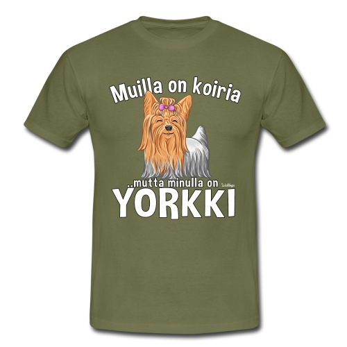 Yorkki Koiria - Miesten t-paita