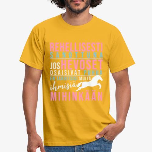 Hevoset Puhuisivat II - Miesten t-paita