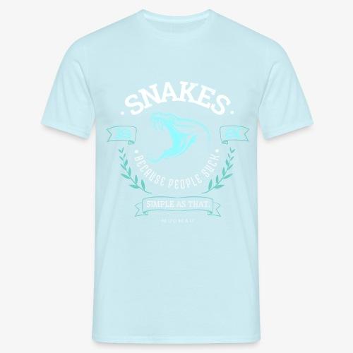 Snakes - People Suck - Miesten t-paita