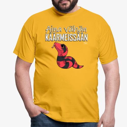 Vähän Käärmeissään VI - Miesten t-paita