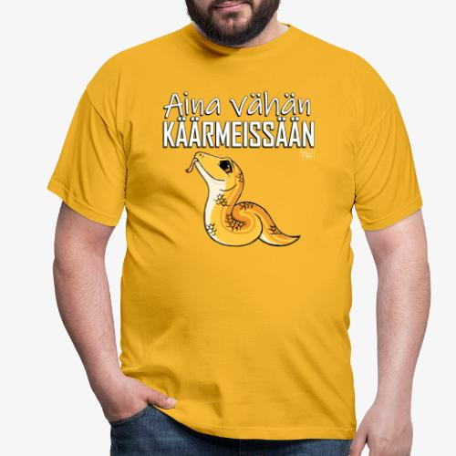 Vähän Käärmeissään I - Miesten t-paita