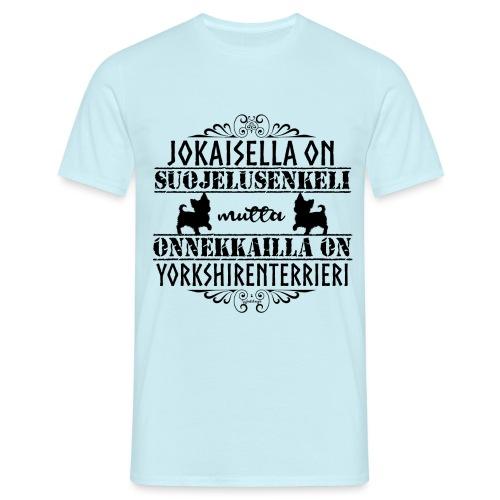 Yorkshirenterrieri Enkeli 5 - Miesten t-paita