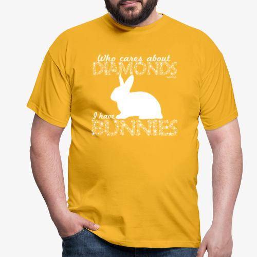 Bunny Diamonds - Miesten t-paita