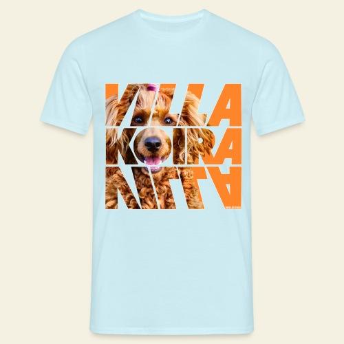 Villakoira Nassu IV - Miesten t-paita