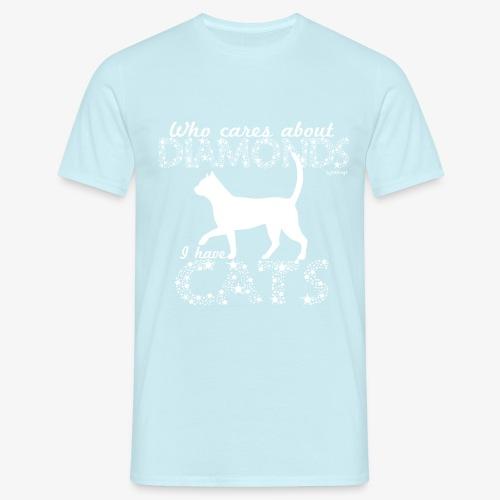 Diamonds Cats - Miesten t-paita