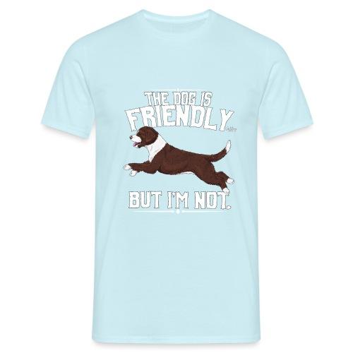 perrofriendly11 - Miesten t-paita