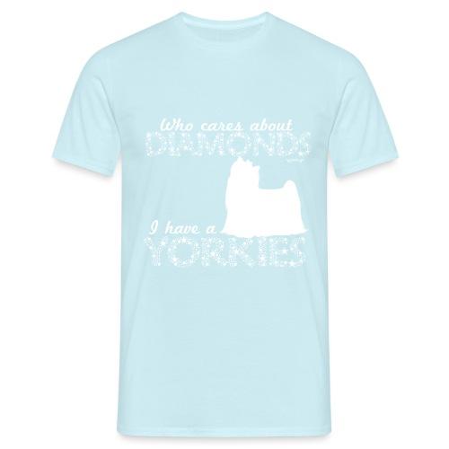 yorkiediamonds2 - Miesten t-paita